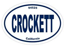 Crockett CA California Auto Sticker