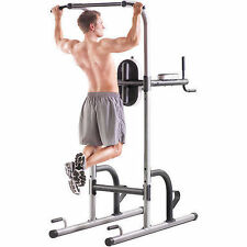 Power Tower Multi-Station Gym Push Pull Up Dip Flex Bar Exercise Workout