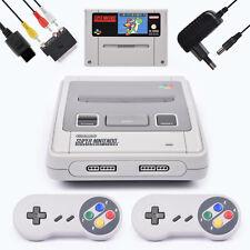 Snes / Super Nintendo Konsole + SUPER MARIO WORLD + 2 Controller alle Kabel