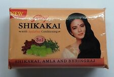 Godrej Shikakai Soap  With Amla and Bhringraj  75gm  Shikakai Herbal Soap