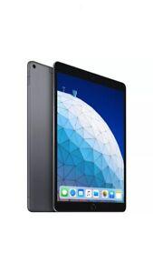 BNIB Apple iPad Air 3rd Gene 64GB Wi-Fi+Cellular 10.5 SGrey + Pencil + Smart KB