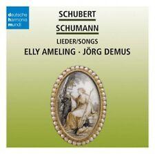 DEINZER/DEMUS/AMELING - LIEDER  CD POPULÄRE KLASSIK NEU SCHUBERT/SCHUMANN