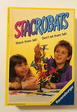 Vtg 1992 Ravensburger STACROBATS Stacking Game Complete in Box