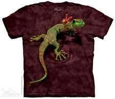 Peace out Gecko Reptile T Shirt Adult Unisex The Mountain Xx-large 1031194