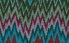 Rowan Kaffe Fassett Bargello Flame Stripe PWGP134 Dark Cotton Fabric By the Yard
