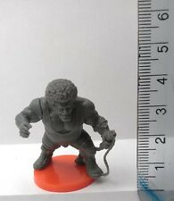30mm miniature SCALA: Ogre con Afro x 1 GRIGIO IN PLASTICA