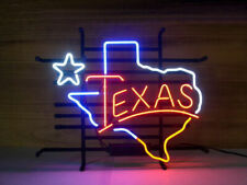 """New Texas Lone Star Beer Cub Party Light Lamp Wall Decor Neon Sign 17""""x14"""""""