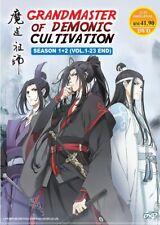 DVD Anime Mo Dao Zu Shi ( 魔道祖师 ) TV Series Season 1+2 (1-23) English Subtitle