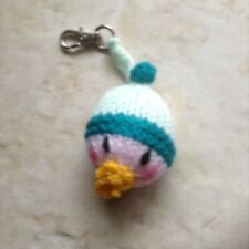 Hand Knitted Baby Face Keyring