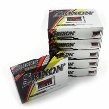 New 2017 Srixon Z-Star XV Tour Yellow Golf Balls - 6 Dozen