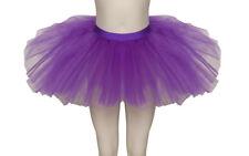 Purple Premium Dance Ballet Tutu Skirt Childs Ladies Sizes By Katz Dancewear