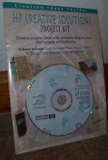 HP CREATIVE SOLUTIONS PROJECT KIT CD - VERSION 1.1 - WINDOWS 95 - COREL - NEW