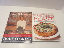 The Vegetarian Feast by Martha Schulman & Linda McCartney's Home Cooking