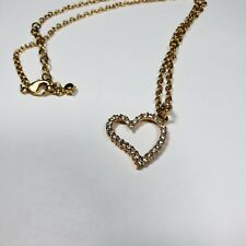 Heart Necklace Vintage Fashion Jewelry