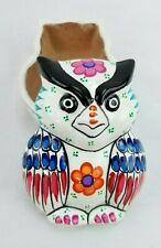 Disney Theme Parks Pottery Clay Owl Bird Trinket Box w/ Lid Jewelry Disneyland