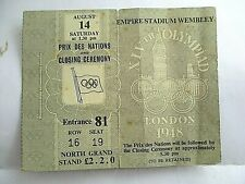 More details for 1948 london olympics prix des nations & closing ceremony aug 14th empire stadium