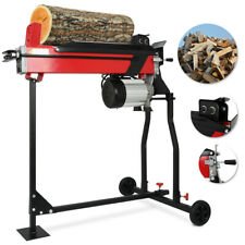 NEW Electric Hydraulic Log Splitter 2200W Wood Axe 7 Ton 520mm Length w/Stand