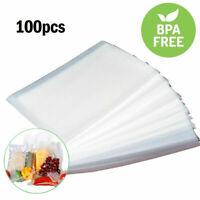 100 Quart 8x12 4 mil Double Embossed Food Vacuum Sealer Bags - Great Food Saver