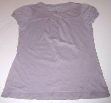PEEK SGT. FLETCHER~Gray Short-sleeve Top~GIRLS SIZE 10
