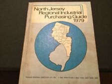 North Jersey Regional Industrial Purchasing Guide Yellow Pages - 1979