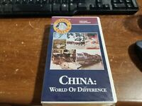 Vintage Clam Shell BETA TAPE - Betamax Video NOT VHS -- China World Difference