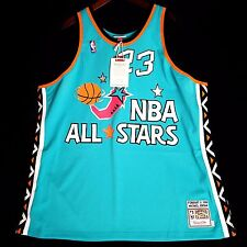 100% Authentic Michael Jordan Mitchell Ness 1996 96 All Star Game Jersey 56 3XL
