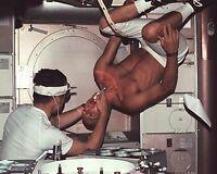 PETE CONRAD ASTRONAUT GETS A DENTAL EXAM ON SKYLAB - 8X10 NASA PHOTO (EP-678)
