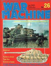 ILLUSTRATED GUIDE TO WW2 AXIS TANKS: PANTHER/ ROMMEL AT GAZALA/WAR MACHINE #26
