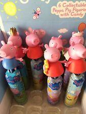 12x(full Box) Peppa Pig Figures Candy Party Bag Filler Gift Toy Doll Birthday