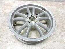 10 Piaggio MP3 400 Scooter Vespa rear back wheel rim