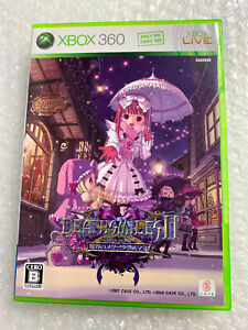 "Deathsmiles II X Makai Merry Christmas ""Good Condition"" Xbox 360 Japan Import"