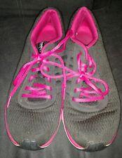 Reebok Womens Tennis Shoes size 9 Sublite Duo Black/Pink