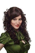 Perruque Pour Femme extravagant bouclé volumineux brun mixte acajou H6303-2T33