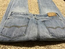 AE AMERICAN EAGLE OUTFITTERS LOW RISE BOOT MEN'S JEANS SIZE 32X32