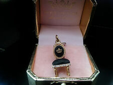 NEW JUICY COUTURE 2008 LOUIS XV CHAIR THRONE Charm YJRU2491