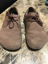 Birkenstock 42 Brown Leather Oxfords Womens L 11 M 9 Made In Germany