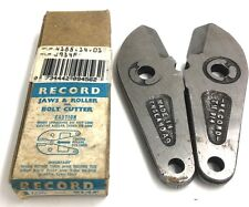RECORD TOOLS BOLT CUTTER JAWS & ROLLER  914F