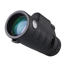 Compact Black 10x42 Waterproof Monocular for Bird Watching and Wildlife New