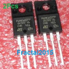 2Pcs STP6NK60ZFP P6NK60ZFP TO-220F