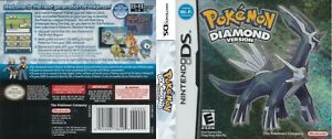 - Pokemon Diamond Version DS Replacement Spare Case Cover Art Work Only