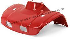 NEW HONDA TRX300 TRX 300 88 - 00 RED FRONT FENDER PLASTIC PLASTICS