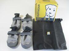 "NIB Ruffwear Summit Trex 3"" Dog Boots Hiking Walking Shoes - Storm Gray"