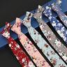 Cotton Print Necktie Men Fashion Classical 6cm Casual Floral Slim Skinny Ties