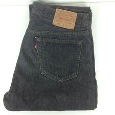 Levis 501 Classic Homme Jeans Noir T 36/32