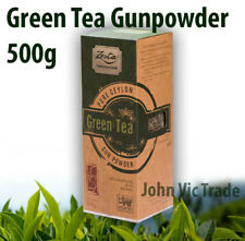 Pure Ceylon Zesta Green Tea Gunpowder 500g Premium Collection Free Shipping
