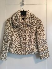 AUTHENTIC JUICY COUTURE GIRLS FUR COAT Size 8 YEARS **L@@K**BNWT