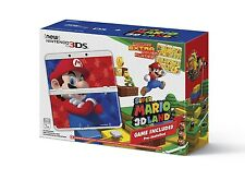 New Nintendo 3DS Super Mario 3D Land System Bundle - WHITE [NN3DS Console] NEW