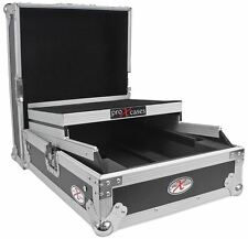 "ProX XS-M12LT Universal 12"" DJ Mixer ATA300 Flight Hard Case With Laptop Shelf"