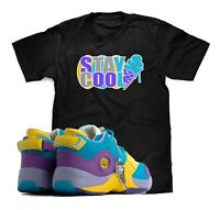 Stay Cool T-Shirt To Match BBC Ice Cream X Reebok Answer 5 Allen Iverson Sneaker