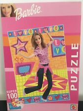 Mattel Barbie 100 Piece Puzzle